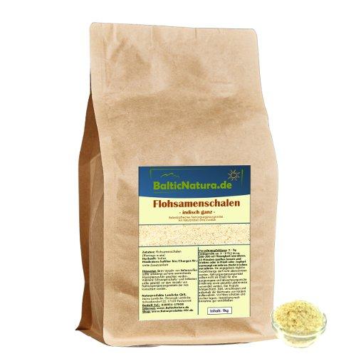 Flohsamenschalen indisch 99% (1kg) Premiumqualität extra weiß Flohsamen Schalen