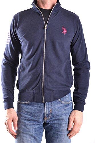 U.S. Polo ASSN. Men's MCBI330005O Blue Cotton Sweatshirt