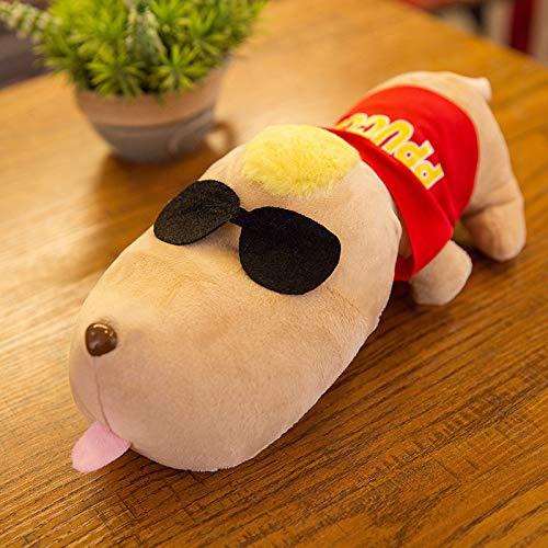 Sacchetto Deodorante Naturale per, deodoranti e sacchetti per purificatoreMold auto decorazione, con ventosa (cane rosso 30 cm 0.14 kg)