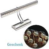 Dailyart 5w 27LEDs blanco cálido Led Espejo Luz de pared apliques Espejo de baño Lámpara