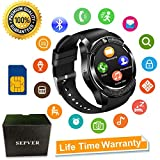 SEPVER Montre Connectée Smartwatch SN08 Bluetooth Montre Sport Fente pour Carte SIM...
