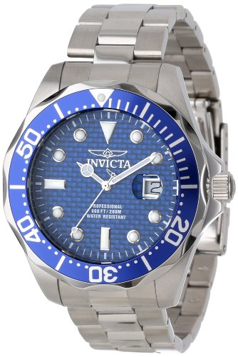 INVICTA 12563 GENTS 47MM SILVER STEEL BRACELET & CASE DATE FLAME FUSION WATCH
