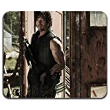 Daryl Dixon Crossbow Dead Zombie Cool Computer Mouse Pad Washable Mat