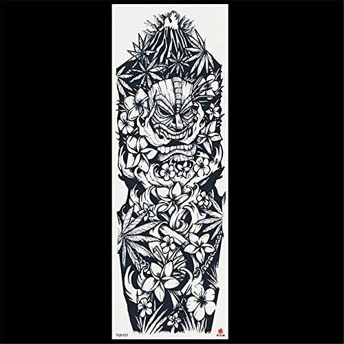 3Pcs-2019 fabricantes al por mayor impermeable brazo completo tatuaje apliques brazo tatuaje pegatinas no se desvanecen color de la fuente de calidad del tatuaje 3Pcs-3