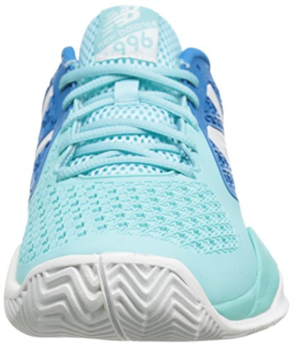 New Balance 996v2 Damen Sneaker blau (Light Blue with Blue)
