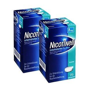 Nicotinell Lutschtabletten 1, 2×96 St 192 St Lutschtabletten