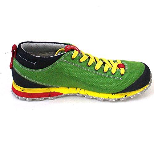 AKU Bellamont Air Unisex-Erwachsene Outdoor Fitnessschuhe grün/gelb/rot