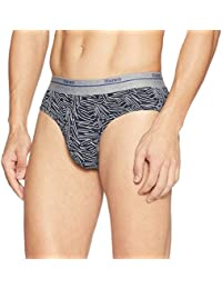 Hanes Men's Cotton Brief (Pack of 1) (Colors May Vary)