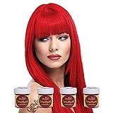 La Riche Directions Colour Hair Dye 4 Pack (Fire)