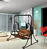 Kaushalendra Garden Zula Indoor Swing Teak Wood