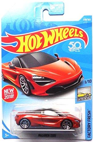 Hot Wheels 2018 50th Anniversary Factory Fresh McLaren 720S 178/365, Orange