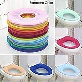 Ceanfly WC Sitzbezug wärmer Toilettensitzabdeckung Waschbar WC-Sitzwärmer Toilette Sitz Abdeckung für O- förmigToilettensitz