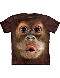 "The Mountain Kinder T-Shirt ""Big Face Baby Orangutan"""