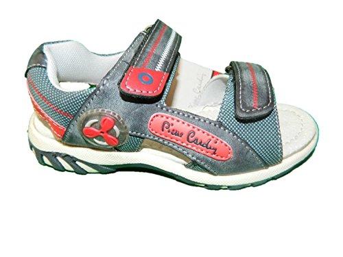 PIERRE CARDIN sandali scarpe da bimbo colore blu con velcro (29)