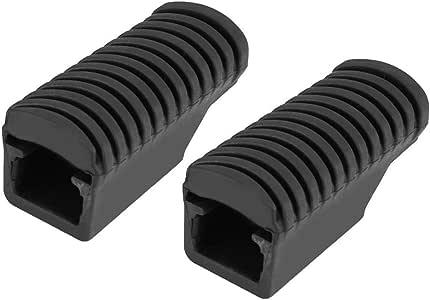 Poggiapiedi in gomma coppia di pedalini posteriori pedane poggiapiedi Piastra poggiapiedi Copertura pad in gomma per F800GS 2013-2017