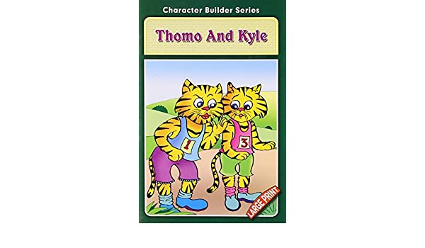 amazon in buy thomo and kyle character builder series book online