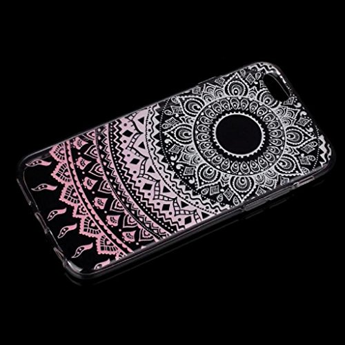 Ouneed® For iPhone 6 6s Hülle,Bunte Vintage Haut PC Hard Case für iPhone 6 / 6S 4,7 Zoll (6/6s G) 6/6s B