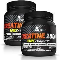 Preisvergleich für Olimp Creapure Creatine 1000, 2er Pack (2 x 300 Tabletten) Spezialangebot