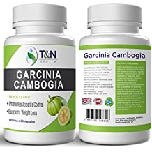 Garcinia Cambogia Fat Burning Pills - Lose Weight in a Month With The Best Slimming Pills For Extreme Weight Loss in the UK - Whole Fruit, Also Contains Potassium & Calcium - Both Essential in a Garcinia Supplement - Natural Appetite Suppressant That Will Boost Your Metabolism and Support Weight Loss - 60 capsules (1 Months Supply) - Suitable For Both Men and Women