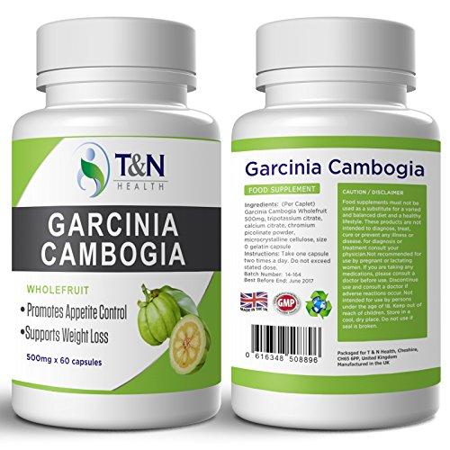 Pillole Sistema Dimagrimento Carcinia Cambogia 60 capsule adatte per uomo e donna - reprimono naturalmente l'appetito