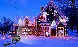 12 Muster Weihnachten Laser Schneeflocke Schneemann LED Projektor lampe Im Freien Wasserdichte Ferien Landschaft Lichter Garten Dekoration