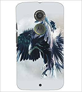 PRINTSWAG EAGLE Designer Back Cover Case for MOTOROLA MOTO X2