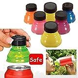 Xinzhi Snap Lattine - Tappi di Bottiglia riutilizzabili Bevande Possono coperchi a Scatto Top Camping Drink Saver Cover