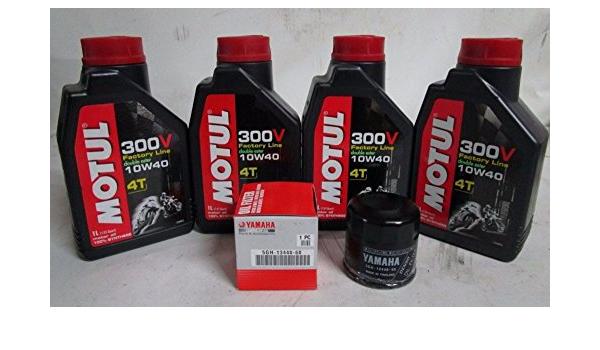 Wartungsset Filter Und Öl Motul 10w40 Für R1 R6 Mt09 Mt07 Mt10 Auto