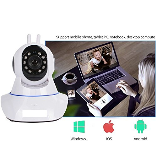 Rewy-Wireless-HD-IP-Wifi-CCTV-Indoor-Security-Camera-Stream-Live-Video-in-Mobile-or-Laptop-White
