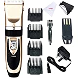 EBasic Professional Electric Cordless Hair Clipper Set, Rechargeable Hair Grooming Trimmer Blades, With 4 Adjustable...