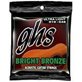 GHS Bright Bronze Acoustic Guitar Strings10-46