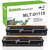 Aztech 2 Pack Kompatibel zu Samsung MLT-D111S MLT D111S Toner Schwarz für Samsung Xpress M2070W M2070FW M2070F Toner Samsung M2020 2020W M2022 W Samsung Xpress M2026W M2026 SL 2026 W Samsung Xpress SL-M2026W/SEE Monolaser-Drucker