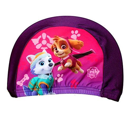 Nickelodeon Paw Patrol - Badekappe für Kinder (Lila)