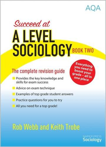 Succeed at A Level Sociology: The Complete Revision for sale  Delivered anywhere in UK