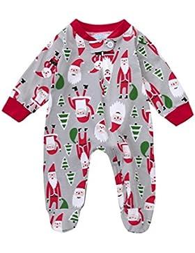 Baby Pagliaccetti,Yummilan Neonato Infantile Del Bambino Ragazze Ragazzi Di Natale Santa Vestiti Pagliaccetto...