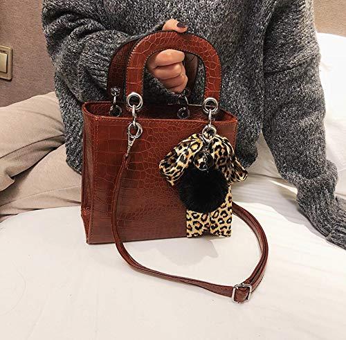 5ef98f618b41 DJBMENG Designer di Borse da Donna di Lusso 2019 Moda Nuovo di Alta qualità  Pu Leather Lady Tote Bag Crocodile Modello Messenger Borse A Tracolla 21 ...