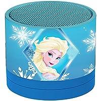 Disney Frozen BT 010 Mini Altavoz Inalámbrico, Bluetooth, Batería Recargable (Lexibook BT010FZ)