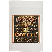 3dRose FL _ 163747_ 1Immagine di New Orleans Vintage Coffee poster giardino Bandiera, 12da 46cm