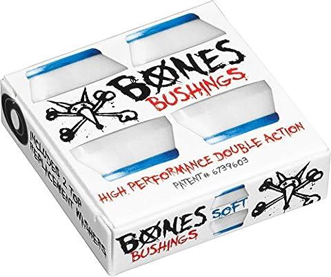 Bones Hardcore Soft Skateboard Bushings - White