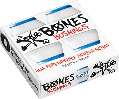 Bones Wheels Bushings 81A Hardcore Soft Set Lenkgummi White