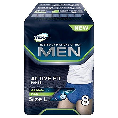 880d569a926214 Tena Men Active Fit Pants L cadera (95 – 130 cm) 96 Pañales incontinencia