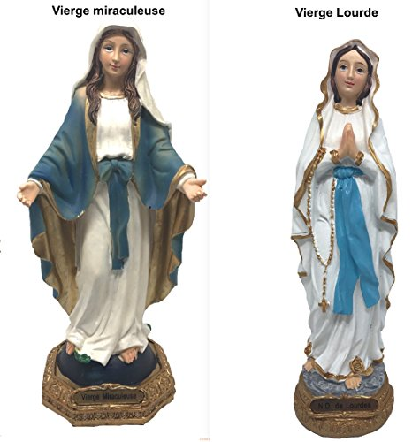 bng Statuette Vierge Marie Grande taille (miraculeuse 30cm)