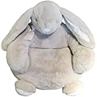 Grey Plush Rabbit Sofa Chairs Animals Arm Chairs Nurseries and Bedrooms Decoation for Christmas Birthday Holiday Gift (Grey)