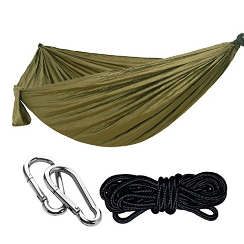 Homyl Hamaca Mosquitera Ultraligera para Aacampada de Nylon Portátiles Paño Paracaídas al Aire Libre - 7#