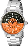 Fortis Colors 595.11.13 M - Reloj de Pulsera Hombre, Acero Inoxidable, Color Plata