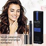 Wimpernserum 4 ml. Premium Deluxe Eyelash Wimpern-Booster Serum für Wimpern und Augenbrauen I Wimpernverlängerungsserum mit HYALURON + KOFFEIN + ALOE VERA - 6