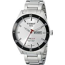 Tissot T0444302103100 - Reloj de pulsera hombre, acero inoxidable, color plateado