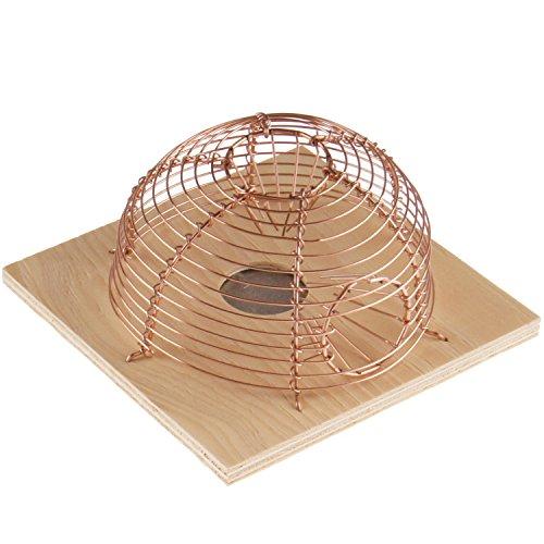 PROHEIM Mause-Falle 13 x 11 cm Korb-Falle mit 2 Eingängen tierfreundliche Lebend-Falle langlebige und zuverlässige Korb-Falle für Lebendfang von Mäusen -