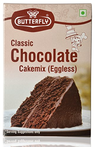 Instant Butterfly Cake Mix, Chocolate, 200 Grams