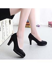 Zapatos negros Culater para mujer iov943lO